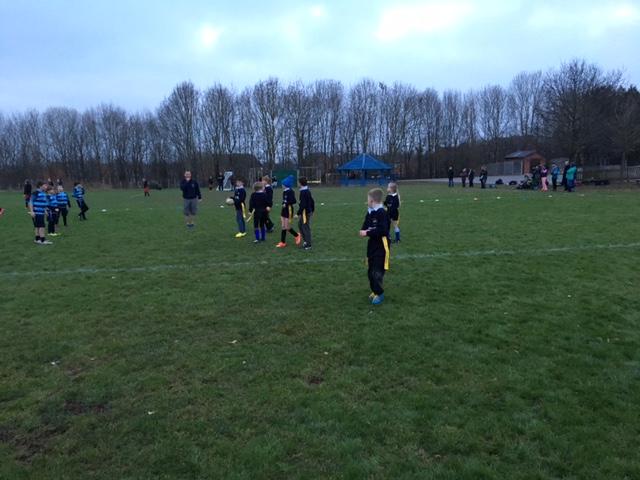 Ledbury Schools Tag Rugby league match