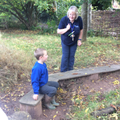 Forest School - listening to instructions.