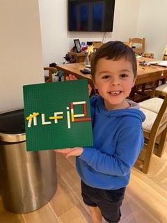 Lego letter!