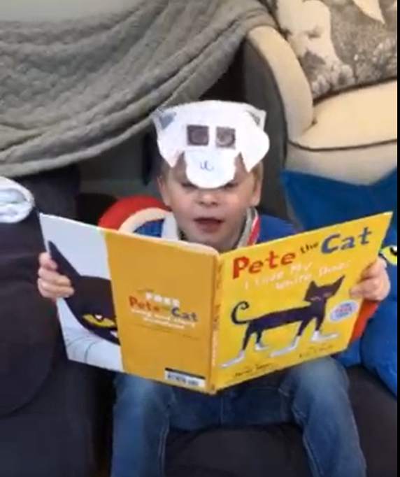 H is the masked reader today!