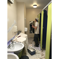 Painting the toilet block