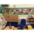 Our library area - we love stories