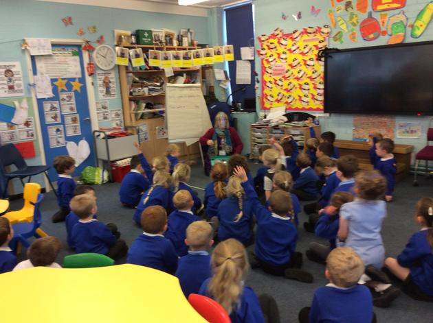 We enjoyed discussing the snails.