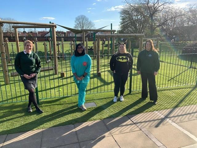 Mrs Quinn, Miss Ahmed, Mrs McGarvey & Mrs Newton - Year 6