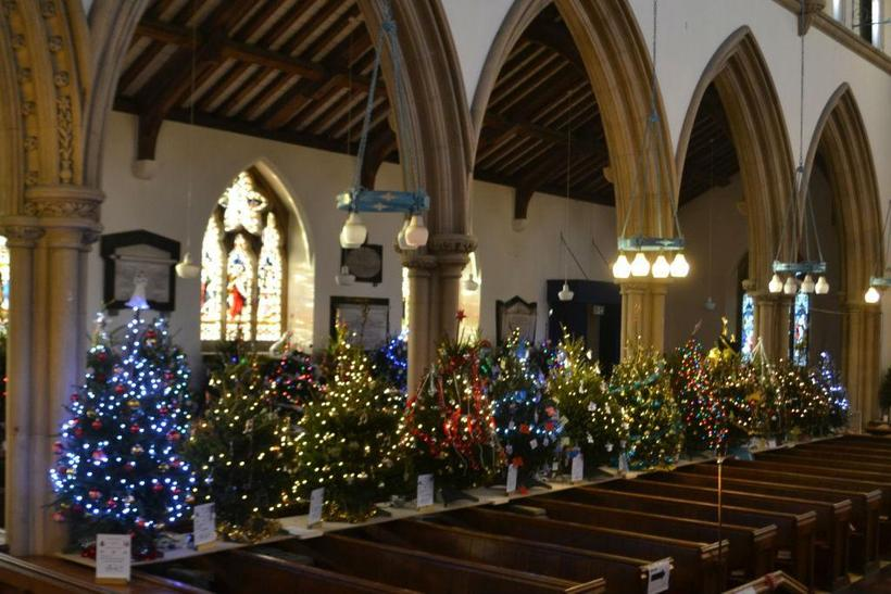 Christmas Tree Festival - St. Mary's