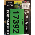 Race numbers have arrived!