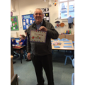 Mr Gregory was very pleased to receive his......
