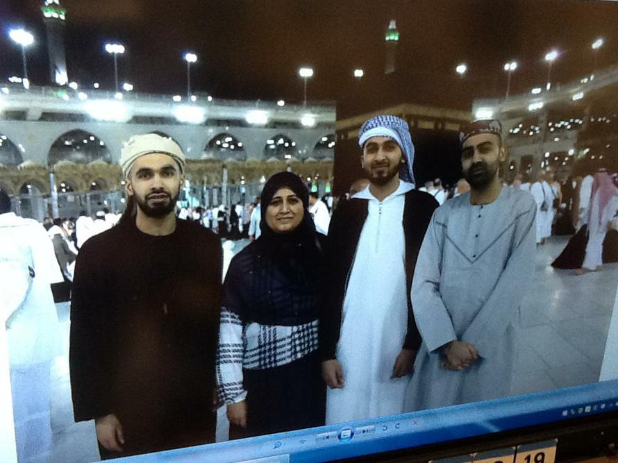 A family visit to Mecca