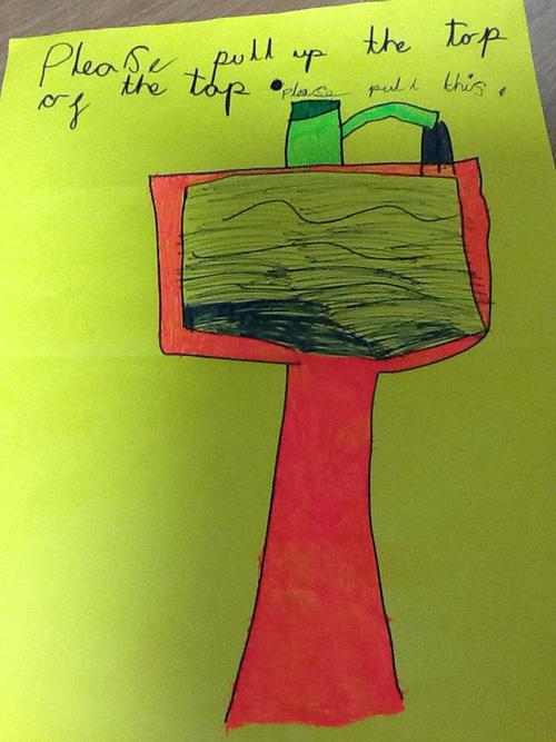 Lily's poster to help save water.