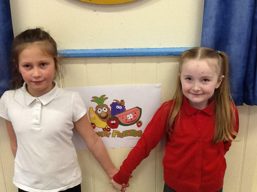 Our Eco-Committee's Healthy Helpers.