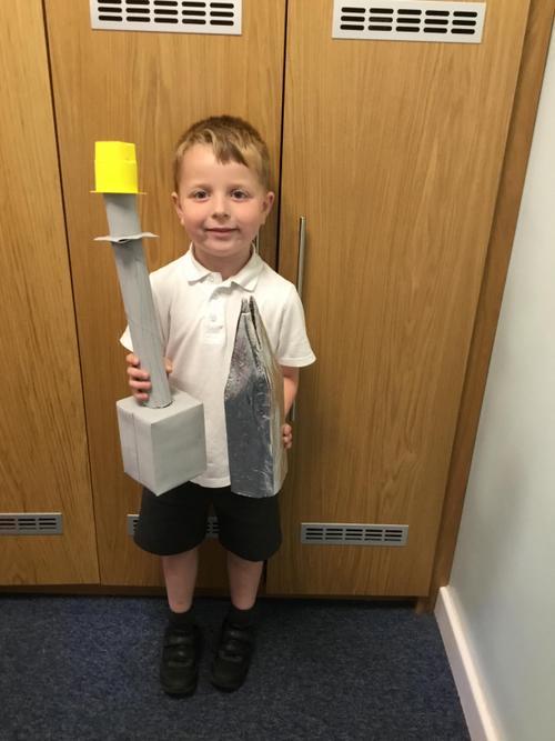Thomas made the Shard