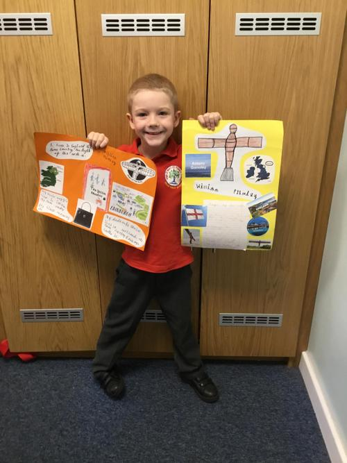 William created 2 fantastic project boards