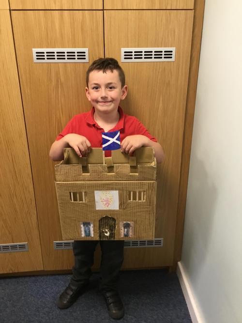 Mason made Edinburgh Castle.