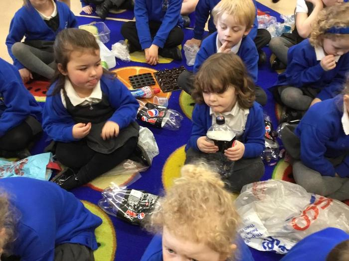 Finding the plastic pollution in the classroom