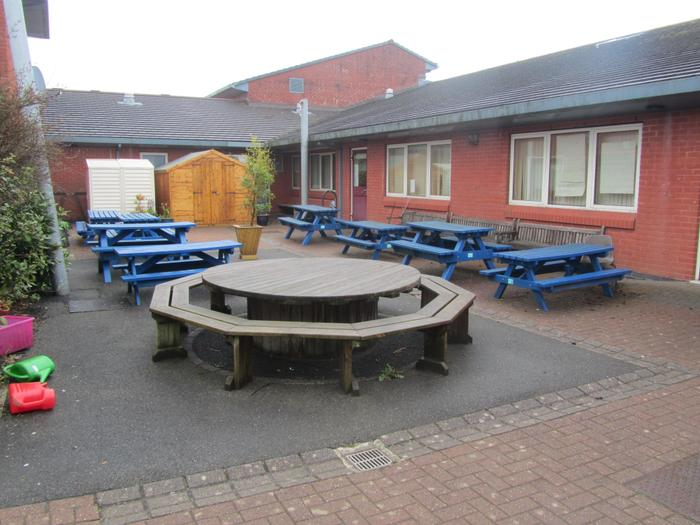 Key Stage Two Courtyard