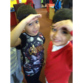 We looked at our heights. All different!
