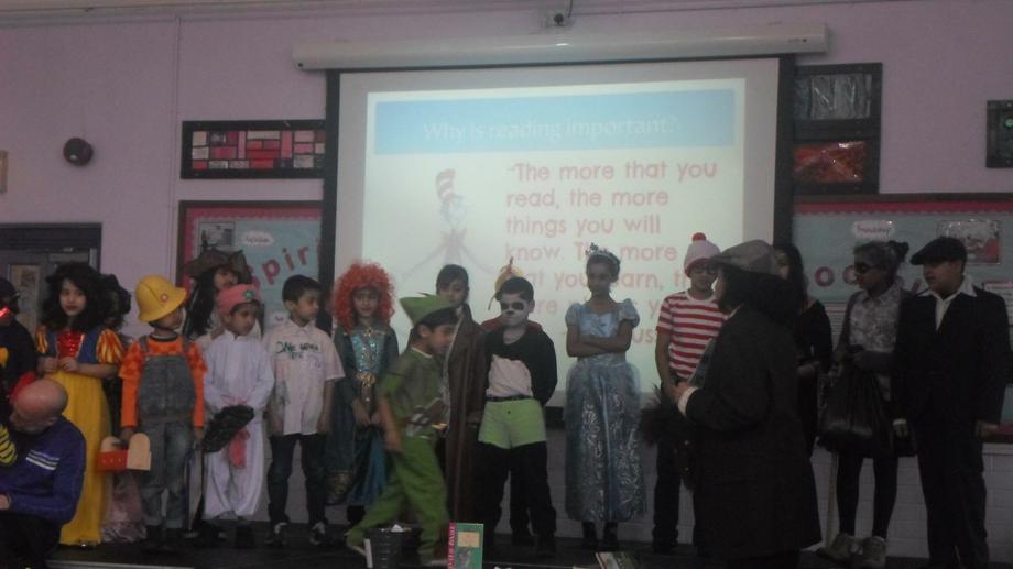 Winners from each class were chosen in assembly.