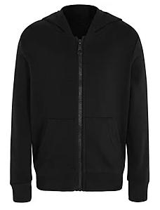 Plain black or grey sweatshirt/hoodie/fleece