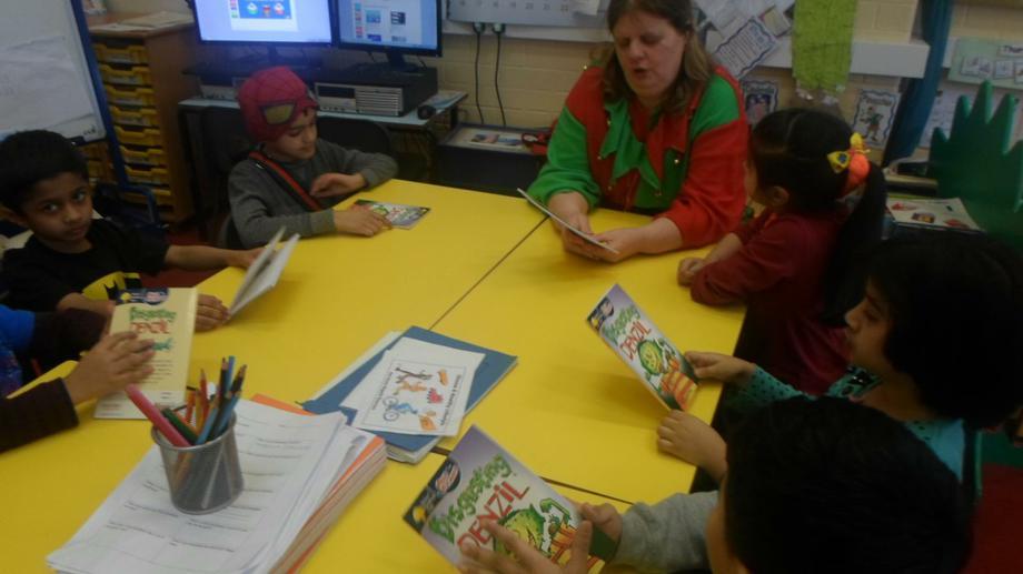 Comprehension activities with Mrs Alder