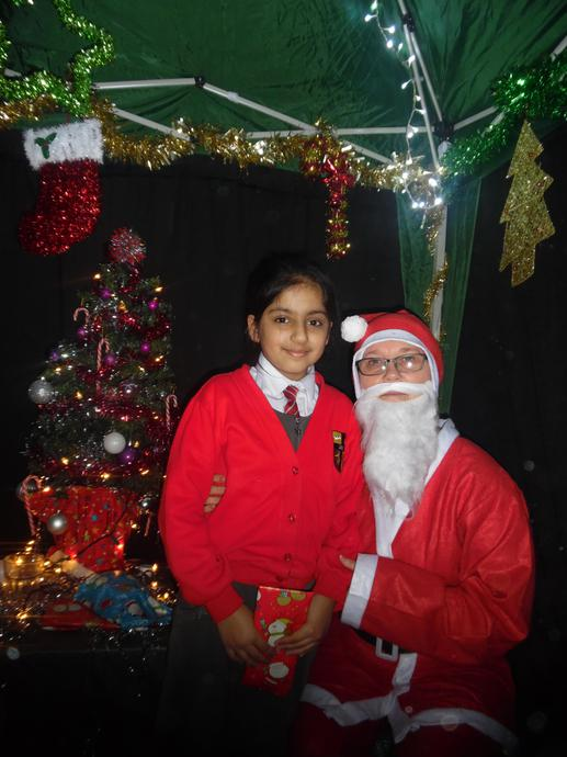 Visited Santa's Grotto