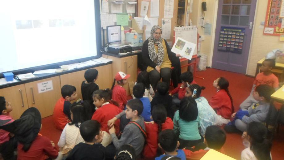 Mrs Khan shared her favorite book