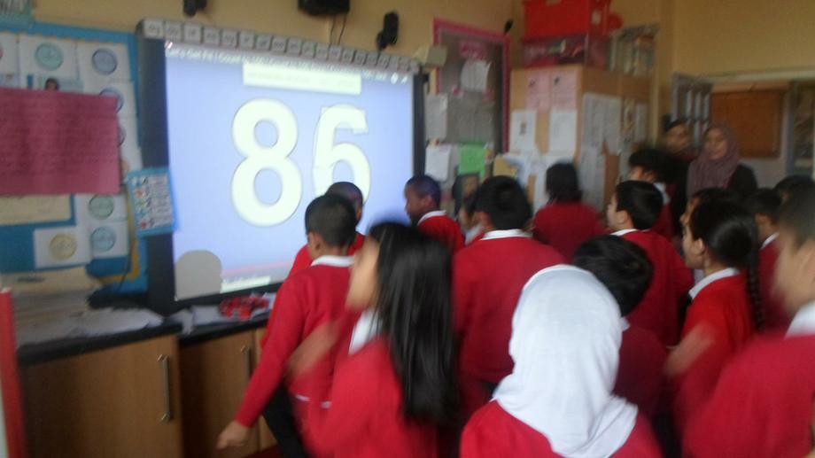 Mathematical singing and dancing!