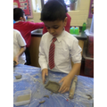 Moulding the shape
