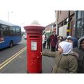 The local post box