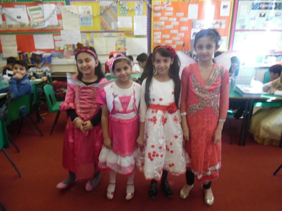 ......and princesses!