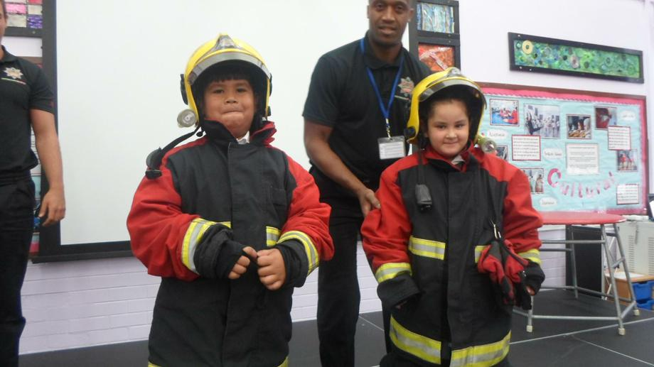 Year 2 firefighters!