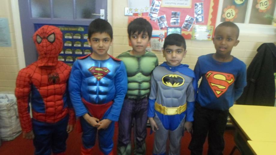 So many Super Heroes!