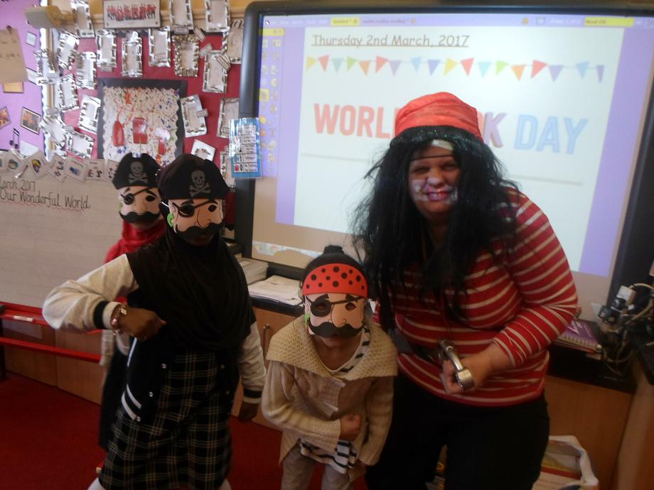 Mrs Alder and her pirates