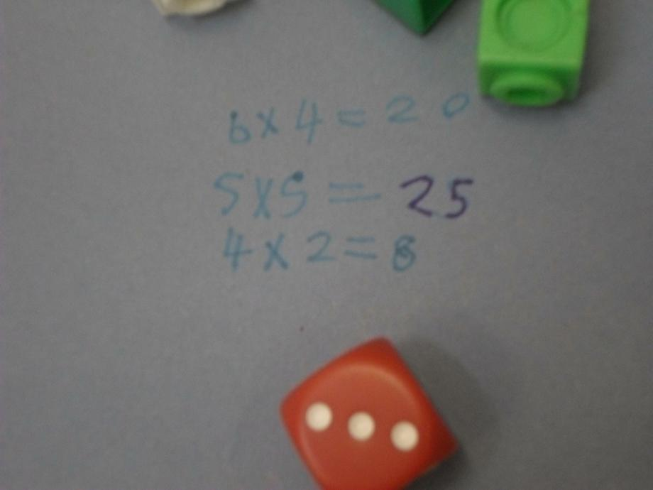 We generated our numbers using dice