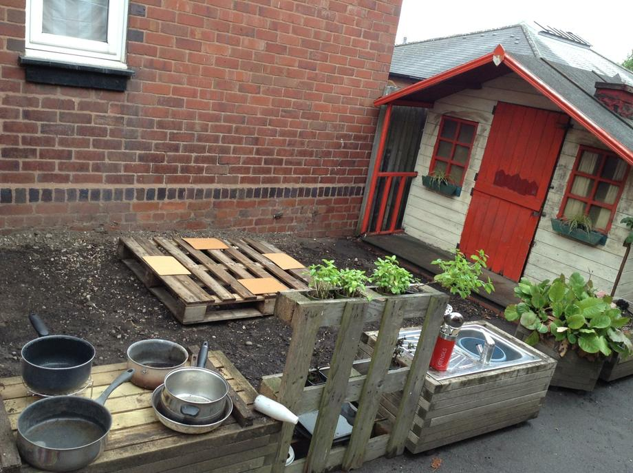 Do you like our mud kitchen?