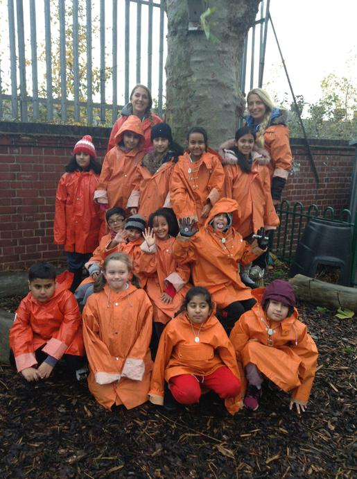 The Forest School crew