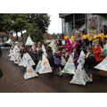 Parading our lanterns for Leigh Heritage Festival