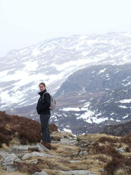 Mrs Davies Assistant head at KS1 who really does climb every mountain