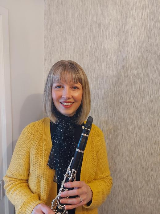 Mrs Houton, a Year 2 teacher with an enthusiasm for music
