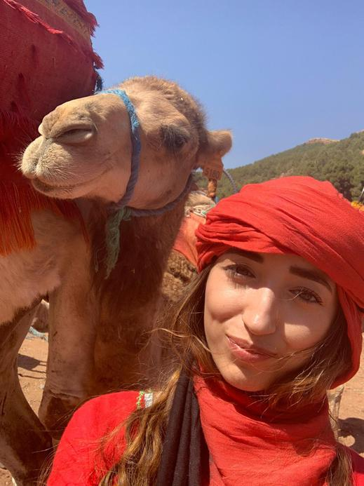Miss Jassal, a Year 6 teacher who loves to travel.