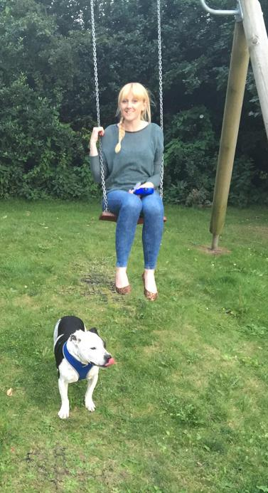 Mrs Froggat, a year 5 teacher who loves to go walking with her dog