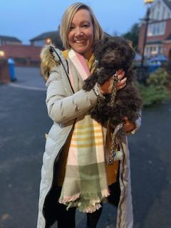 Mrs Ward is a teacher in Year 1 and adores her new puppy Rufus.