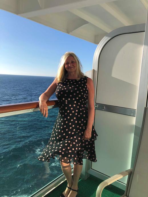 Mrs Barley, a Year 5 teacher who dreams of cruises!