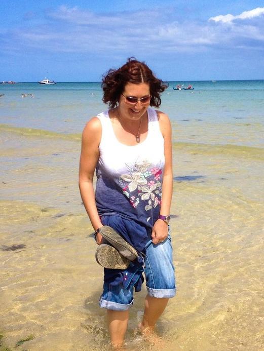 Mrs Doidge a Year 1 teacher who loves a trip to Cornwall
