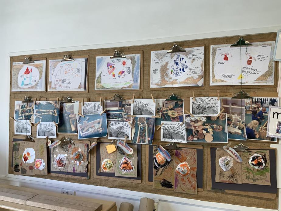 Art work in Reception