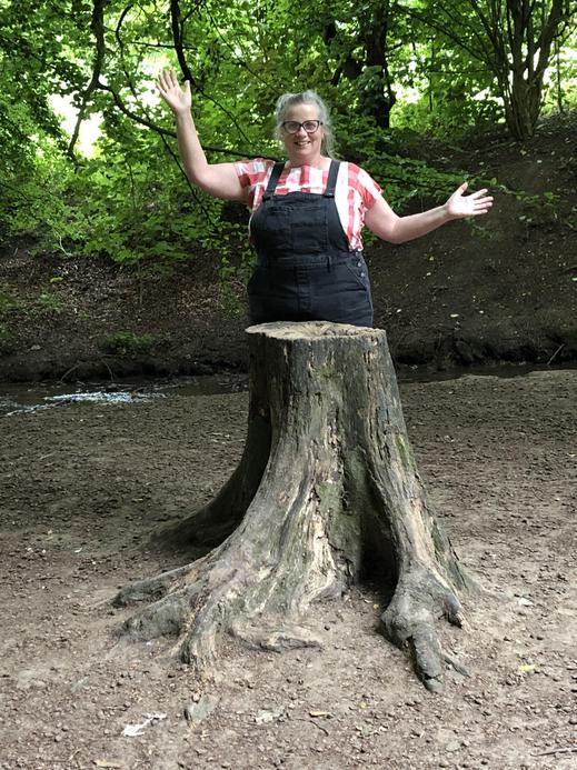 Mrs Hanmer, Co Head, who has a passion for outdoor learning and specialises in EYFS