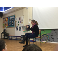 Katherine's Mum read Rumble in the Jungle.