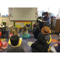 Our Bailey Bear enjoyed the story too!