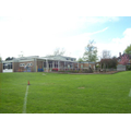 A view of our school from the field