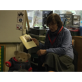 Mrs Williams read the story of James the Big Bear.