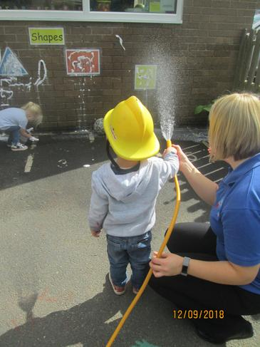 We have been putting out our own fires at nursery.